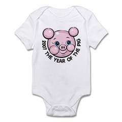 2007 Year of the Pig Infant Bodysuit
