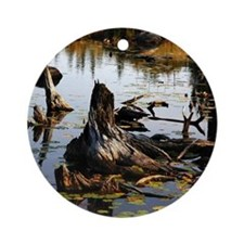Images from the wilderness Ornament (Round)