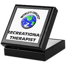 World's Coolest Recreational Therapist Keepsake Bo