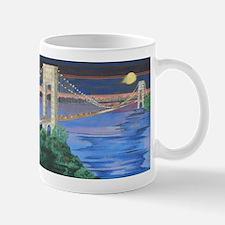George Washington Bridge Full Moon Mug