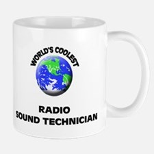 World's Coolest Radio Sound Technician Mug