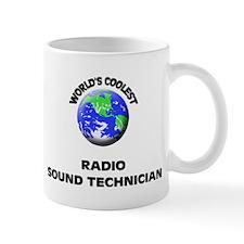 World's Coolest Radio Sound Technician Mug