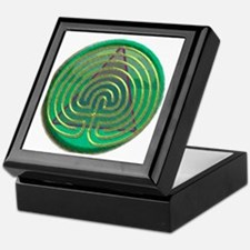 Labyrinth for Recovery Keepsake Box