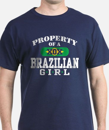 Property of a Brazilian Girl T-Shirt