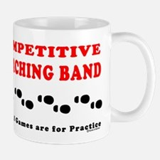 Competitive Band Footprints Mug