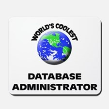 World's Coolest Database Administrator Mousepad