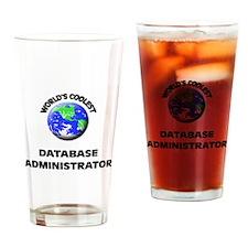 World's Coolest Database Administrator Drinking Gl