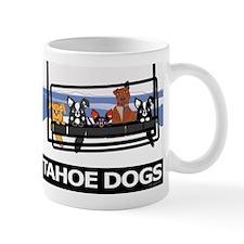 Tahoe Dogs on Ski Lift Mug