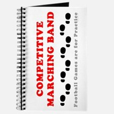 Competitive Band Footprints Journal