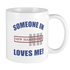 Someone In New Hampshire Loves Me Mug