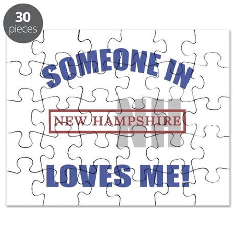 Someone In New Hampshire Loves Me Puzzle