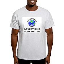 World's Coolest Advertising Copywriter T-Shirt