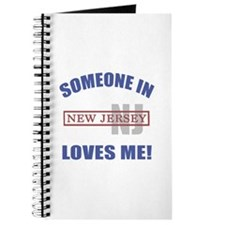 Someone In New Jersey Loves Me Journal