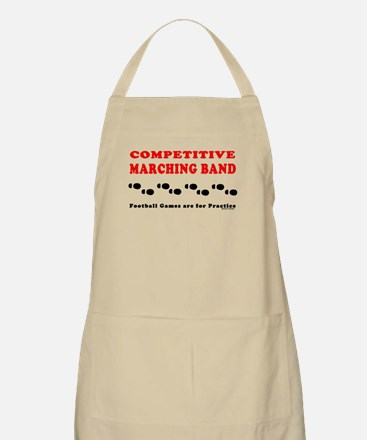 Competitive Band Footprints Apron