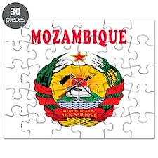 Mozambique Coat Of Arms Designs Puzzle