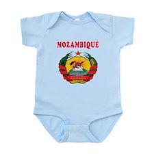 Mozambique Coat Of Arms Designs Infant Bodysuit