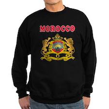 Morocco Coat Of Arms Designs Sweatshirt
