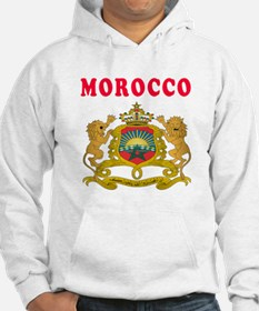 Morocco Coat Of Arms Designs Hoodie