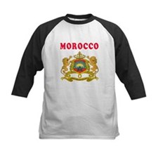 Morocco Coat Of Arms Designs Tee