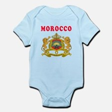Morocco Coat Of Arms Designs Infant Bodysuit