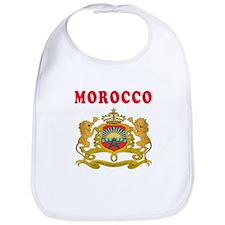 Morocco Coat Of Arms Designs Bib