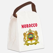 Morocco Coat Of Arms Designs Canvas Lunch Bag