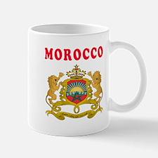Morocco Coat Of Arms Designs Mug