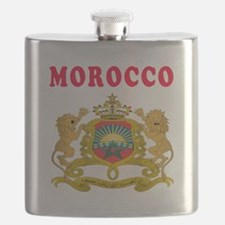 Morocco Coat Of Arms Designs Flask