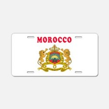 Morocco Coat Of Arms Designs Aluminum License Plat