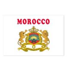Morocco Coat Of Arms Designs Postcards (Package of