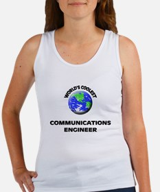 World's Coolest Communications Engineer Tank Top