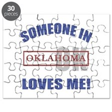 Someone In Oklahoma Loves Me Puzzle