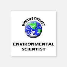 World's Coolest Environmental Scientist Sticker