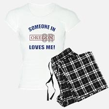 Someone In Oregon Loves Me Pajamas