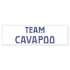 Team Cavapoo Bumper Bumper Sticker