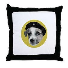 Jack Russell Terrorist Throw Pillow