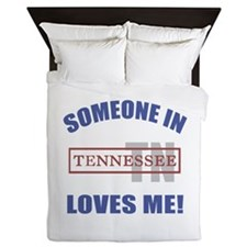 Someone In Tennessee Loves Me Queen Duvet