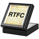 Read The Fine Constitution Keepsake Box