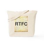 Read The Fine Constitution Tote Bag