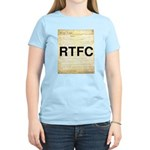 Read The Fine Constitution Women's Light T-Shirt