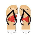 Fish whisper Flip Flops