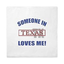 Someone In Texas Loves Me Queen Duvet