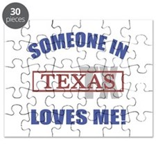 Someone In Texas Loves Me Puzzle