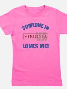 Someone In Virginia Loves Me Girl's Tee