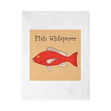 FISH WHISPERER Twin Duvet