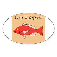 FISH WHISPERER Decal