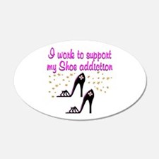 GLAMOUR SHOES Wall Decal