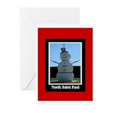 North Saint Paul Greeting Cards (Pk of 10)