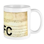 Read The Fine Constitution Mug