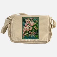 Rose of Sharon Hibiscus Messenger Bag